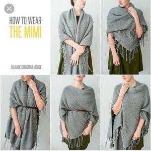 LuLaRoe Limited Edition Gray Mimi